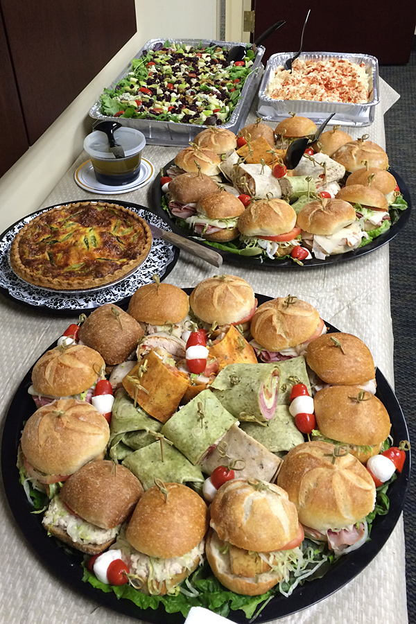 catering whippany new jersey law office luncheon simply lisa s